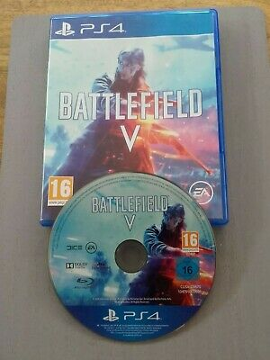 Battlefield V PS4- used played once.