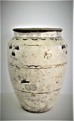 Large Antique Chinese Ming Dynasty Period Jar or Vase