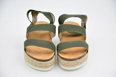 Nature Breeze Women/'s Kacie-02 Elastic Strappy Sandals Leopard Size US 8.5 Used