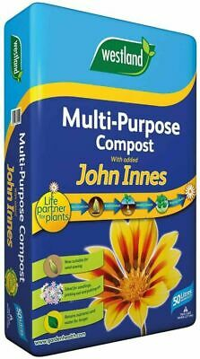 Westland 50L Multi-Purpose Compost for Stronger Plants with John Innes