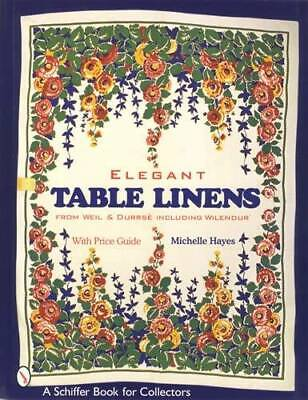 Vintage Elegant Table Linens 1920s-1984 Colorful Textiles - Collector Reference