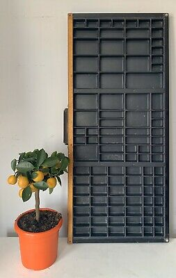 Vintage Printers Letterpress Tray In Good Condition