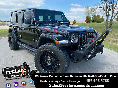 2018 Jeep Wrangler Wrangler Unlimited RUBICON, Black Mountain Custom 2018 Jeep Wrangler Unlimited RUBICON - RAMC - Black Mountain Custom - Black