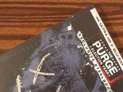 THE PURGE Election Year  4K UltraHD  Limited Steelbook Edition [ USA ]