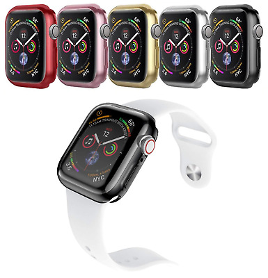 Apple Watch Protective TPU Cover Bumper For Series 1 2 3 4 5 38mm 40mm 42mm 44mm