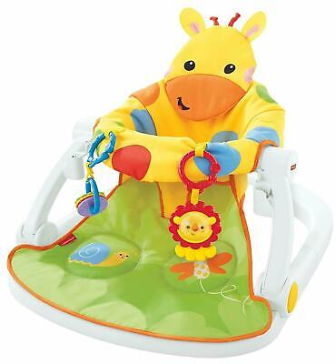 Fisher-Price DJD81 Giraffe Sit-Me-Up Portable Baby Chair