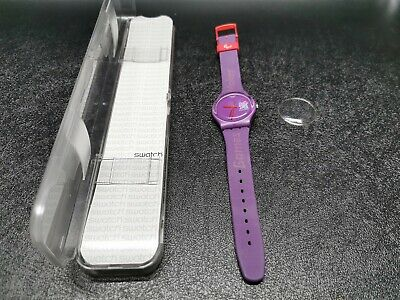 Official London 2012 Olympics Paralympic Games maker Swatch Watch,