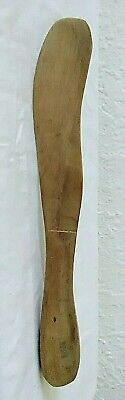 Antique Primitive Hand Crafted Wooden Butter / Cheese Knife Spreader Spain