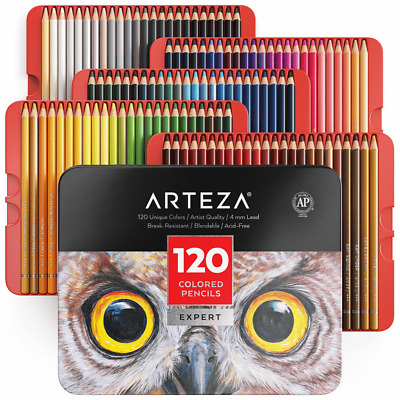 Brand New Arteza Professional Coloured Pencils - Set of 120