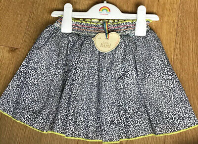 Little Bird By Jools Oliver Girls Floral Skirt Age 3-4 Years Includes Hanger 🌈