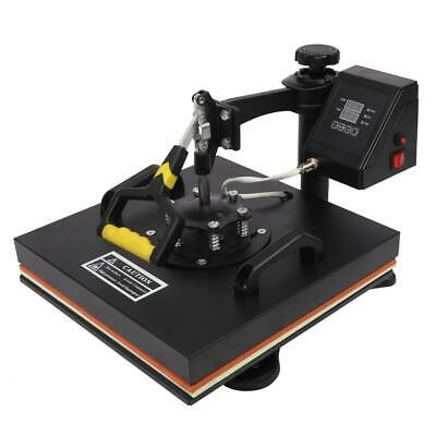 """5 In 1 15"""" x15"""" Digital Heat Press Machine Sublimation for T-Shirt Plate 1420W"""