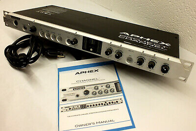 Aphex Project Channel Microphone Preamp Aural Exciter Big Bottom Punch Processor