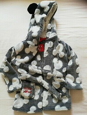 Baby Boys 18-24 Months Mickey Mouse Dressing Gown