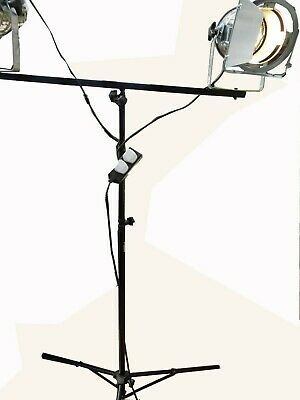 Studio lights (two) for photography/public speaking/ amdram plus two tripods