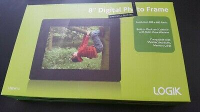 Logik 8 Digital Frame in Original Box - New