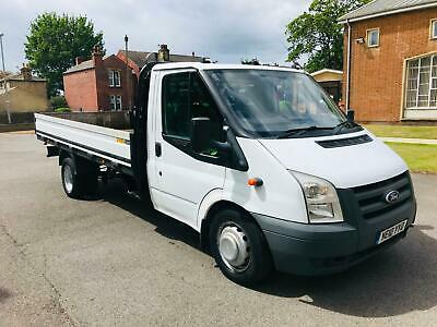 Ford Transit pick up truck 2010 2.4 tdci 6 speed lwb 140 bhp no vat