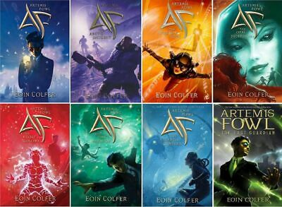 Artemis Fowl complete series set 1-8 by Eoin Colfer Epub