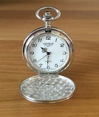 Personalised Engraved Pocket Watch Father's Day/Birthday Gift Special Offer