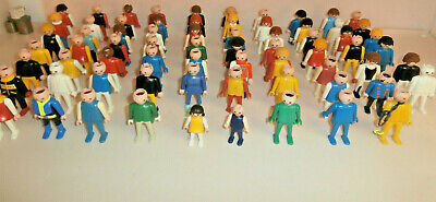 Lot Playmobil Personnages Vrac
