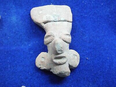 RARE Aztec, MAYAN  c. 800-1500 AD. CLAY HEAD LOT Z-2