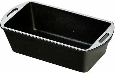 "Lodge 10-1/4"" x 5-1/8"" Cast Iron Loaf Pan L4LP3 - New 100% - Free Shipping"