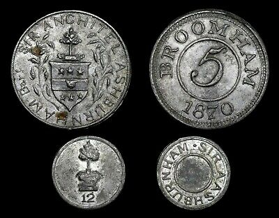 Sir Anchitel Ashurnham, Broomham East Sussex Hop Tokens