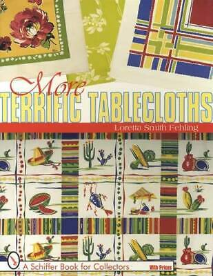 Vintage 40s 50s Era Kitchen Tablecloths Collector Guide Colorful Textile Prints