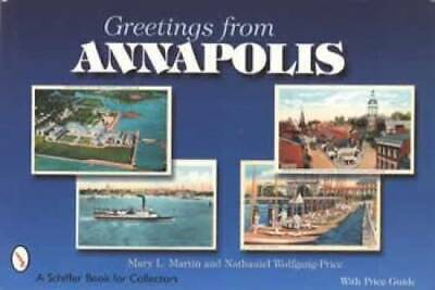 Annapolis Maryland MD Postcard Book Capitol State House