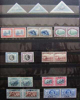 South West Africa - Choice small mint collection, SG cat £265+