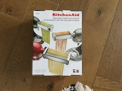 KitchenAid Pasta Sheet Roller And Cutter Set Attachment. Brand New With Box.