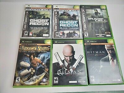 Original Xbox 6 game lot (Some are scratch but all where tested and working)