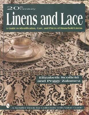 1900s Era Vintage Linens & Lace Collectors ID Guide - Tablecloths, Doily & More