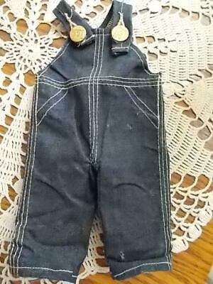 HTF Vintage Early 1930-40's? BUDDY LEE Doll Denim Union Made OVERALLS ONLY! VGC