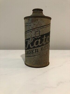Late 1930's Kato Lager Beer Cone Top