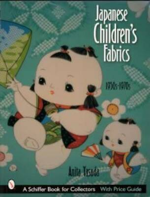 Japanese Childrens Fabrics ID$ Book Anime Vintage