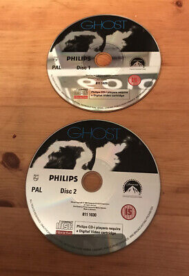 Ghost - Video CD VCD Philips CDI CD-I Discs Only