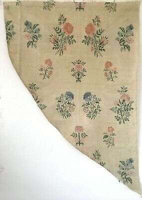 Incredibly Beautiful 18th C. French Silk Brocade Fabric   (2707)
