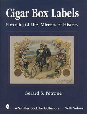 1880s Era Historic Cigar Box Labels Colorful Engravings - Collector Reference