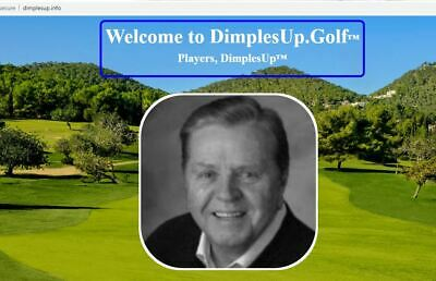 Golf website for sale with products & services