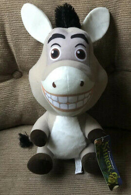 Shrek Donkey Plush New With Tag 10""