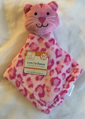 NWT Swiggles Pink Tiger Cat Baby Security Blanket Leopard Cheetah Lovey Nunu