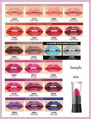 Avon Mark Epic lipstick - FULL SIZE & SAMPLE SIZE - BNIP