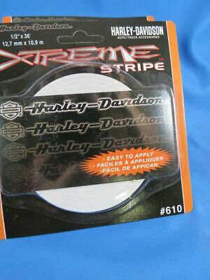 LOT OF 4 LICENSED HARLEY DAVIDSON MOTORCYCLE PINSTRIPE PIN-STRIPING DECAL truck