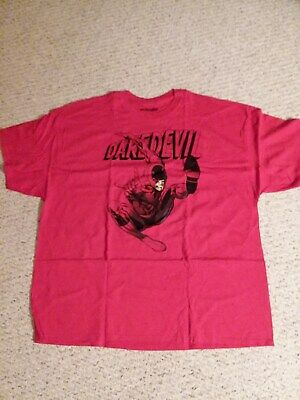 Red Daredevil T Shirt Marvel Brand New Size XXXL