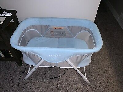 Dream On Me Baby Bassinet in Blue