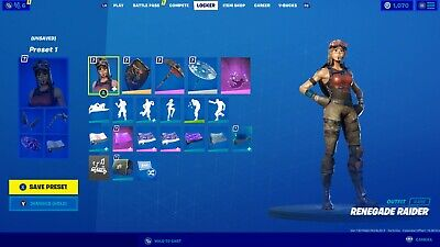 OG Stacked Fortnite Account - Renegade Raider, Black Knight (Full Access)