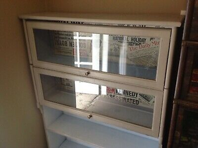 Globe Wernicke Style Stacking Barristers Bookcase Cabinet