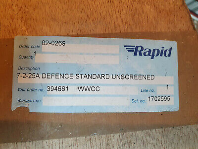 7-2-25A Defence Standard Unscreened Cable