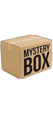 Mystery box New & Used electronics, computers, magic Tattoos, dvds, New Clothes