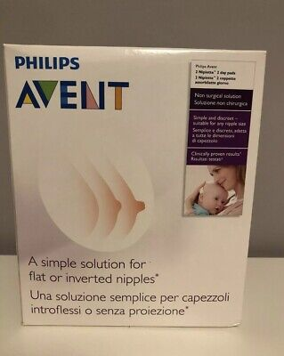 Philips Avent Niplette Twin Pack Correction for Inverted Nipples -Double, 2 Pack